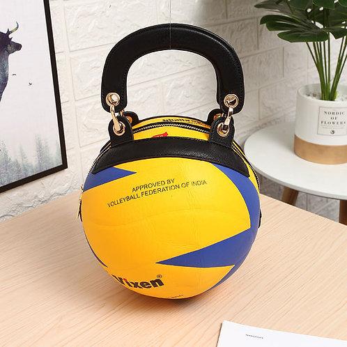 Volleyball Shaped Crossbody Bag VG03