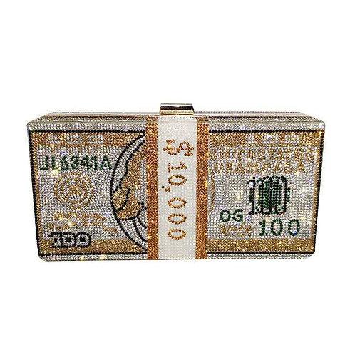 Money Evening Clutch Bags MC01 GOLD
