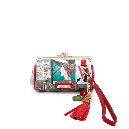 NICOLE LEE FALLING IN LOVE KISS LOCK WRISTLET COLLECTION CP6614-FIL