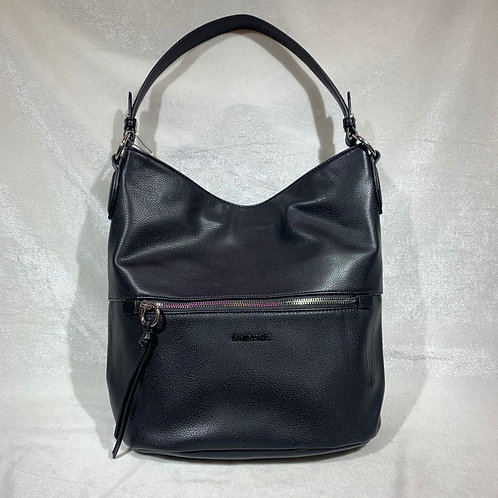 DAVID JONES FASHION SATCHEL HANDBAG 6422-1 BLACK