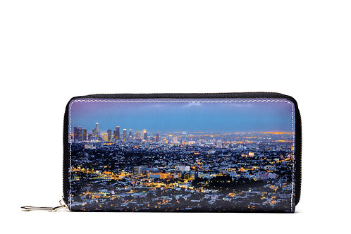 Trendy Magazine Long Wallet With Hand Strap