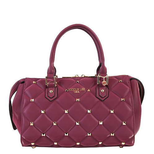 NICOLE LEE STUDDED QUILTED BAG  P14034 PP