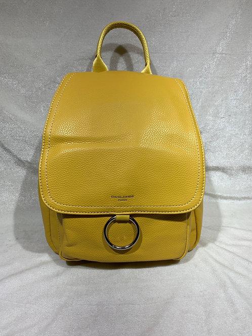 David Jones Backpack CM5636 yellow