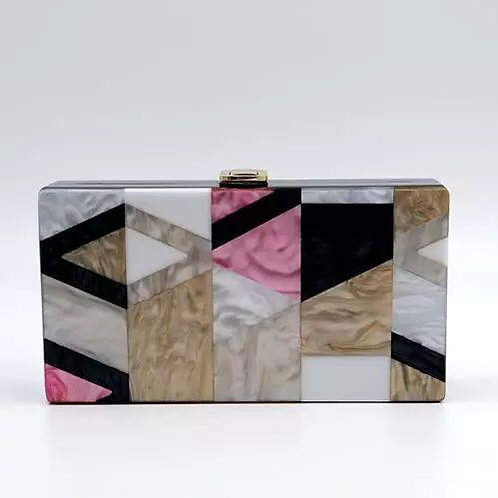 Acrylic Evening Clutches Bags AR09