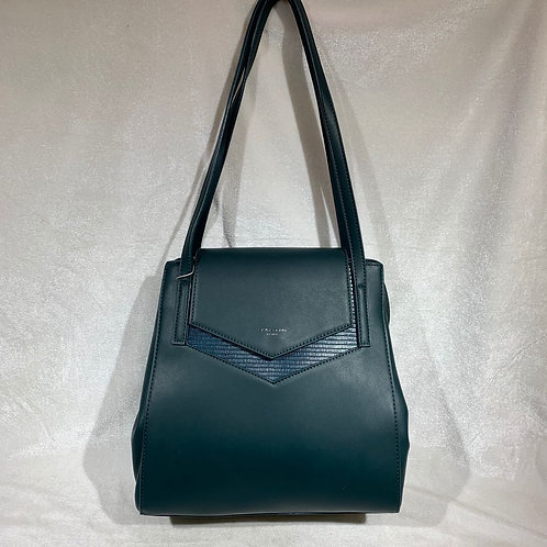 DAVID JONES HANDBAG CM5918 GREEN