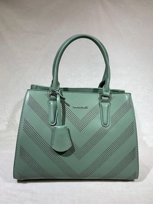 David Jones Handbag 6281-2 With Long Strap GN