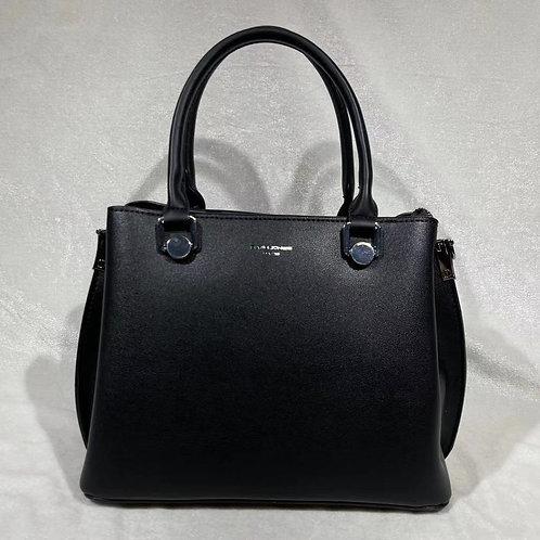 DAVID JONES FASHION SATCHEL BAG CM6066 BLACK