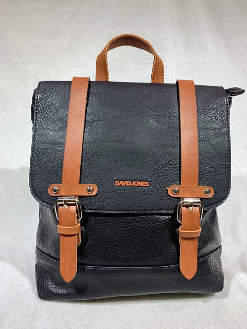 David Jones Backpack 6311-2 BK