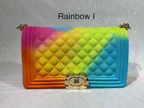JELLY STYLISH CROSSBODY BAG RAINBOW I