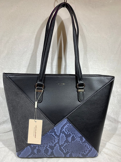 David Jones Handbag 6274-2 BK