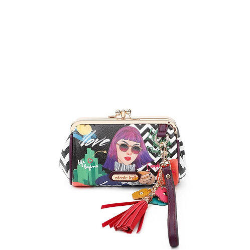 NICOLE LEE EVERYDAY IS MY DAY KISS LOCK WRISTLET COLLECTION CP6614-EMD