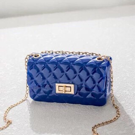 Shiny Jelly Crossbody BU