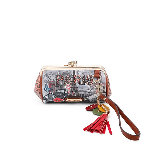 NICOLE LEE PARIS IN FALL KISS LOCK WRISTLET COLLECTION CP6614-PIF