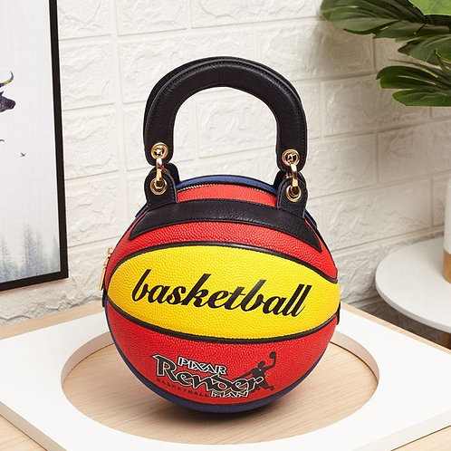 Basketball Shaped Crossbody Bag BB01