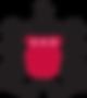 Pates logo Black-red-crest-transparentbg