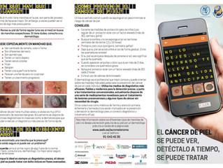 Campaña Euromelanoma de la AEDV