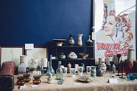 Studio Pottery and Glass