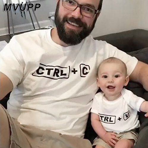 Parent and Child CTRL + C, CTRL + V Matching Tops