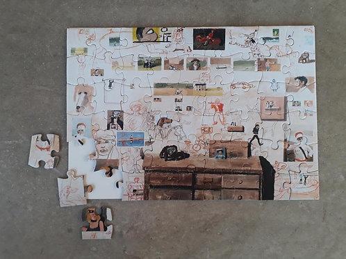 Puzzle con cuadro de Ignacio Iturria