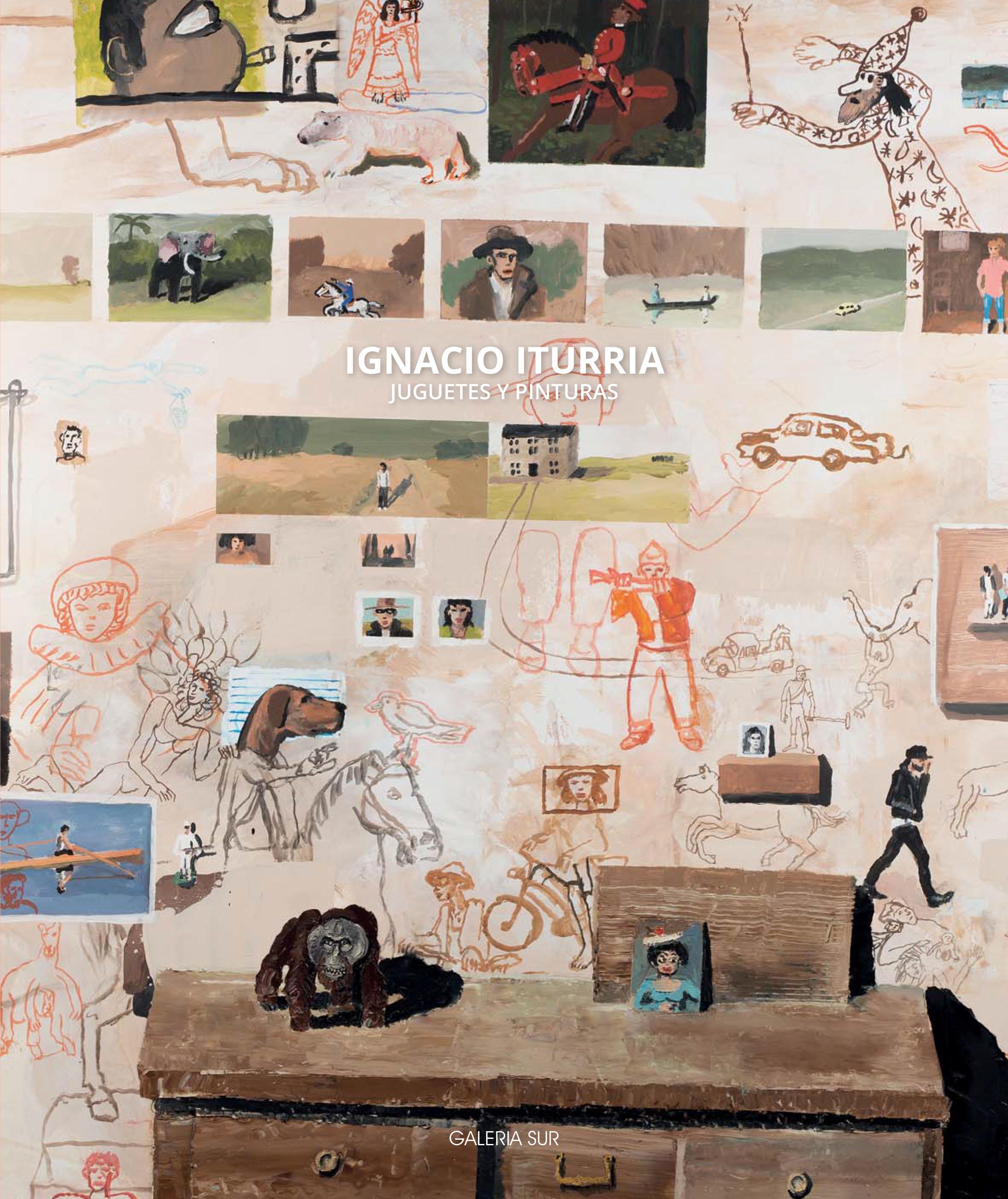 """""""Juguetes y Pinturas"""",Galería Sur"""