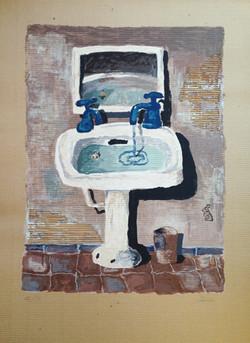El baño 110x80