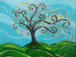 Swirly Tree
