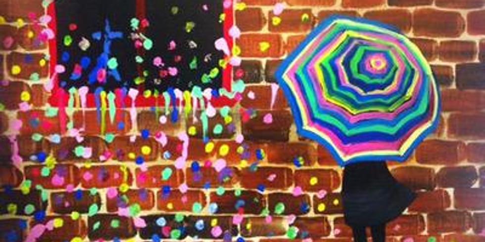 Paint & Sip - Gum Wall