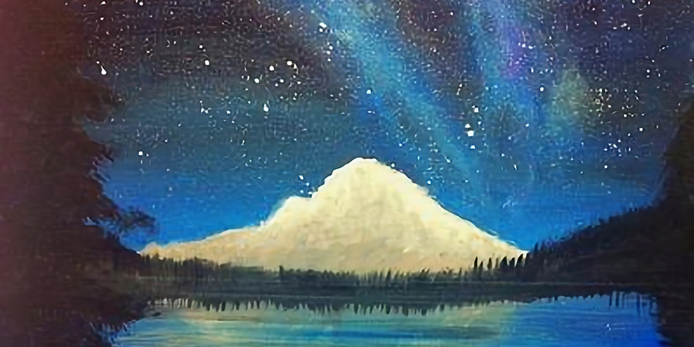 Paint & Sip - Northwest Starlight