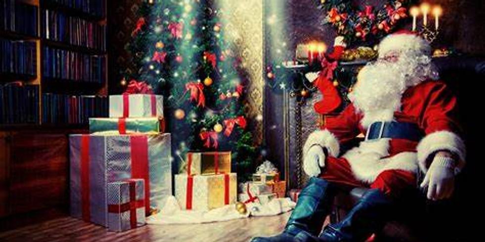 Santa's Virtual Story Time 12.23.20