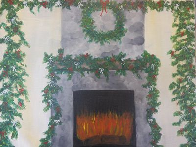 Wreath and Hearth