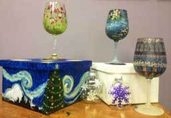 Paint Your Own Wine Glasses