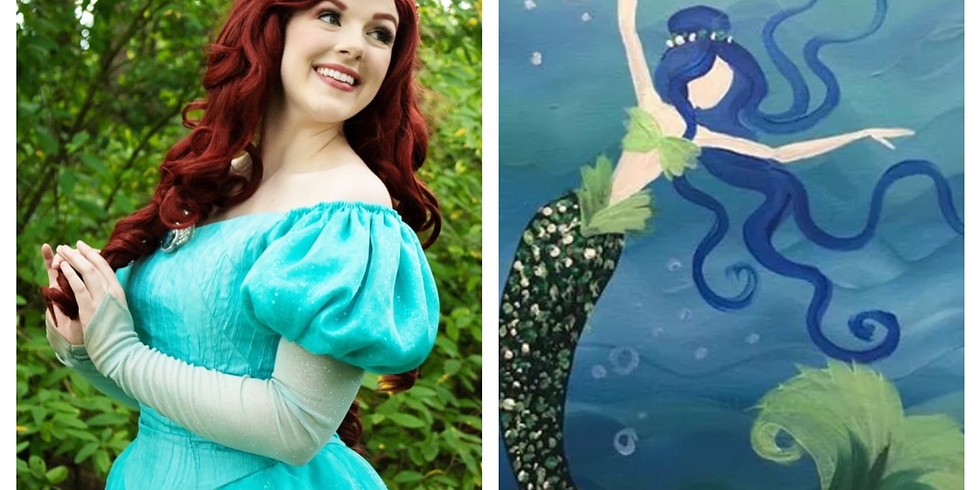 Virtual Family Paint - Paint a Mermaid with a Mermaid! (1)
