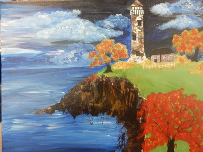 Fall Lighthouse