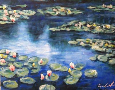 Monets Waterlilies