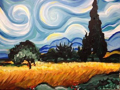 Van Gogh Wheat Fields