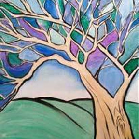 Paint & Sip - Mosaic Tree