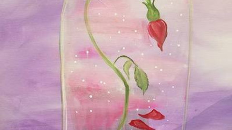 Trivia & Paint & Sip - Disney Princess Roses