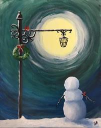 Lantern Snowman