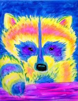 Neon Raccoon