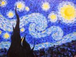 Van Glow Starry Night