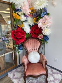 Flower Throne