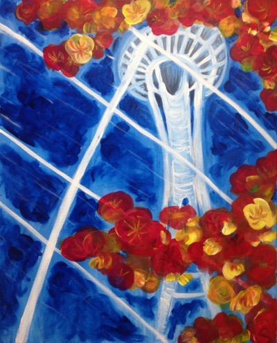Glass Space Needle