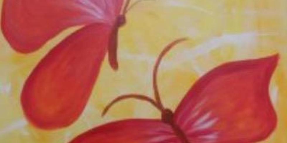 Family Paint - Butterflies