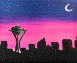 Glittery Skyline