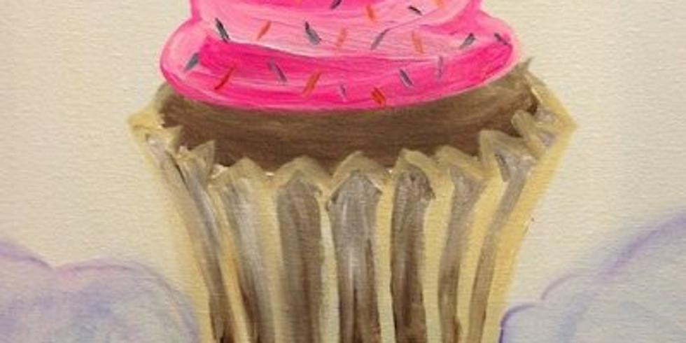Family Paint - Cupcake