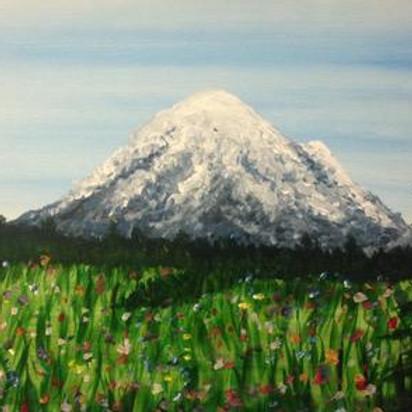 Paint & Sip -  Mountain Wildflowers