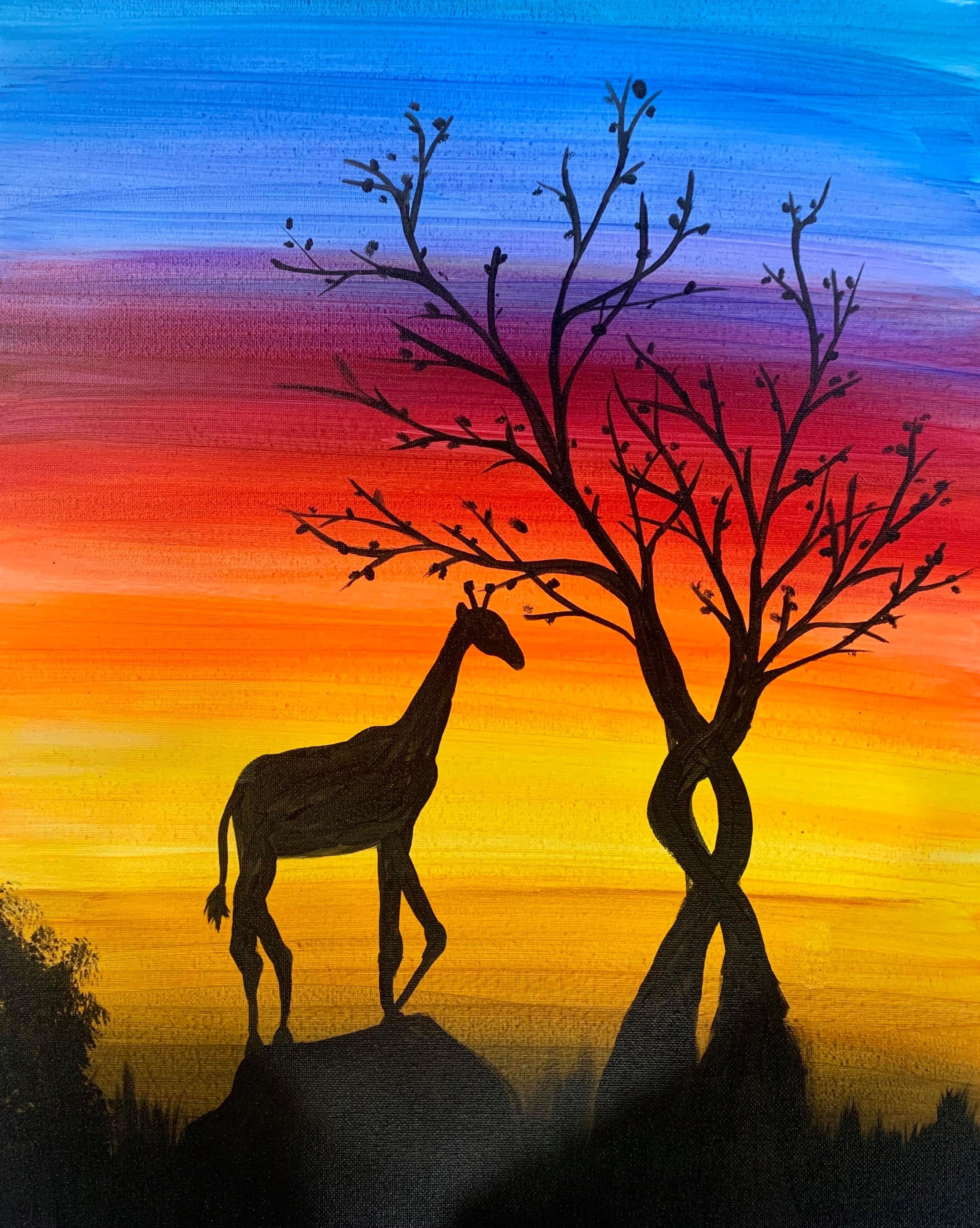 Savannah Giraffe