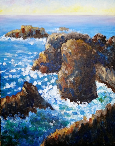 Monets Rocks
