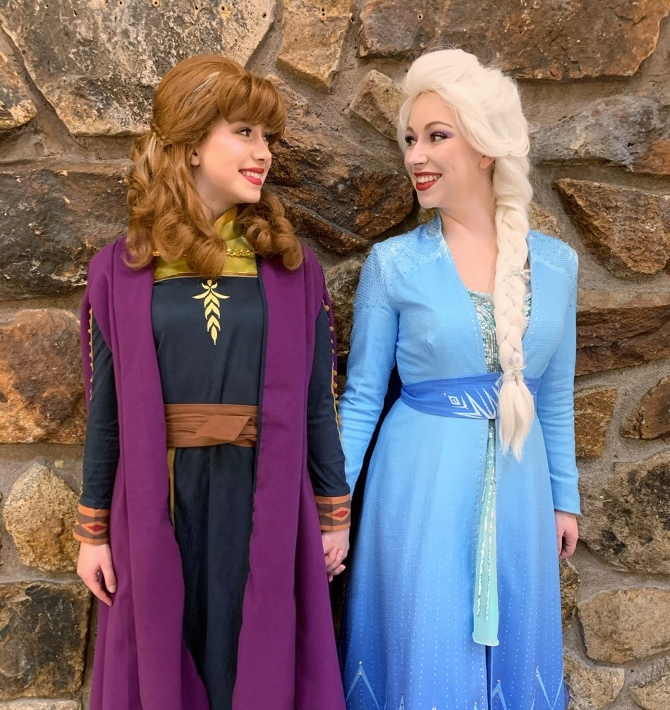 Snow Sisters New Dresses