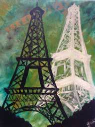 Twin Eiffel Towers